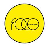Logo Foco en Ventas amarillo-negro